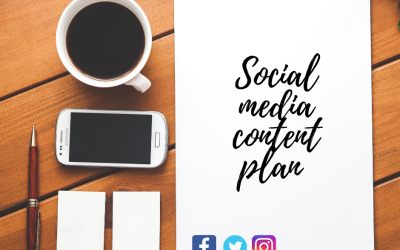 Creating a social media content plan to suit the current climate