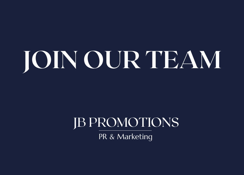 JOIN OUR TEAM: WE HAVE A VACANCY FOR AN ACCOUNT EXECUTIVE